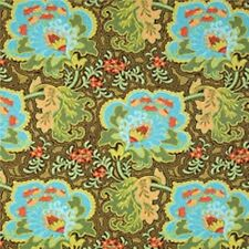 Free Spirit Amy Butler Belle Gothic Rose Blue Quilting Fabric By The Yard