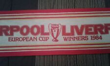 SCIARPA SCARF VINTAGE LIVERPOOL DATED 1984 CHAMPION EUROPE ROME