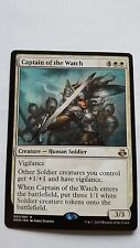 1x CAPTAIN OF THE WATCH - Rare - Duel Deck - MTG - Nm - Magic The Gathering