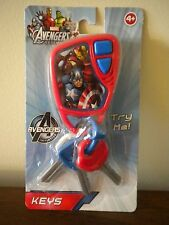 The Avengers Car Keys Pretend Play Sound Effects Marvel NEW