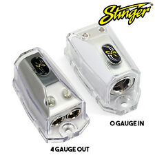 Stinger SHD20 Power or Ground Distribution Block - 0 Gauge in to 4 Gauge Out