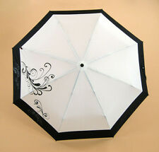 New Knirps MiniUltralight Manual Compact Umbrella Folding Red Dot Rhinestone