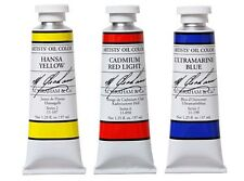 M. GRAHAM ARTISTS' OIL COLOR 37ml/1.25oz Tube CADMUM YELLOW  GREAT BUY