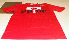 Team Canada 2014 Sochi Olympics S Red Team Pride Hockey T Shirt NWT