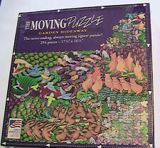 THE MOVING PUZZLE - GARDEN HIDEAWAY - PUZZLE 294 PC SEALED