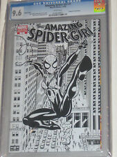 AMAZING SPIDERGIRL COMIC NO. 1 CGC GRADED 9.6  SKETCH COVER VARIANT WHITE PAGES
