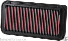 KN AIR FILTER (33-2252) FOR TOYOTA COROLLA IX (E12) 1.4 2001 - 2007