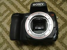 Nice Sony α (alpha) A300 10 MP Digital SLR DSLR Camera Body