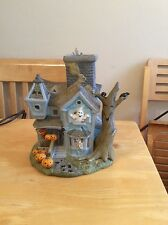 Halloween Partylite Party Lite tea light holder Candle Light Up Horror House