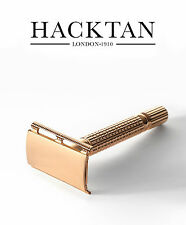Hacktan Double Edge Razor Premium Safety Razor Mirror Case Fits All Blades (H2G)