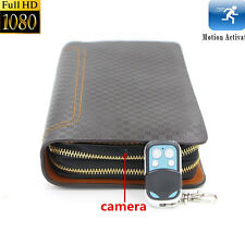 Full HD 1080P 8GB Spy Covert Camera Wallet Bag Motion Detection Video Recorder