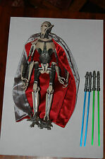 "General Grievous 12""-Hasbro-Star Wars 1/6 Scale Customize Side Show ROTS"