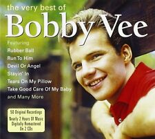 Bobby Vee Very Best Of 2-CD NEW SEALED Take Good Care Of My Baby/Rubber Ball+