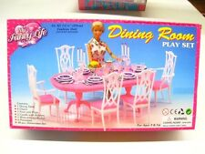 Gloria,Barbie Doll House Furniture/(9712) My Fancy Life Dining Room