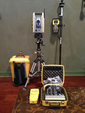 """Trimble S6 1"""" HIGH PRECISION Robotic Total Station with TSC2 w/radio, Calibrated"""