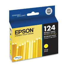 Epson T124 Genuine Ink Cartridge 124 Yellow T124420 Y For Stylus NX330 NX230