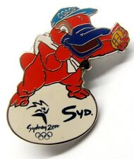 SYD MASCOT COACH SWIM SWIMMING SYDNEY OLYMPIC GAMES 2000 PIN BADGE COLLECT #314