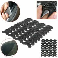 20 Pairs Rubber Sole Heel Savers Toe Plates Taps DIY Glue on Shoe Repair Pads