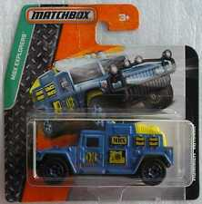 Matchbox Diecast MBX Explorers 2015 Hummer W/Ramp New & Carded