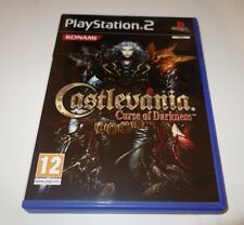 CASTLEVANIA CURSE OF DARKNESS SONY PLAYSTATION 2 PS2 PAL