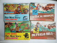 ATLANTIC Storia del West HO Buffalo Bill Caccia Al Bisonte Gold Rush, Cow Boys