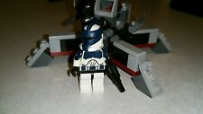Lego Star Wars Custom Commander Wolffe Clone Wars  with Cannon Set