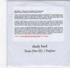 (DC703) Shady Bard, Trials (Part III) / Daphne - 2010 DJ CD