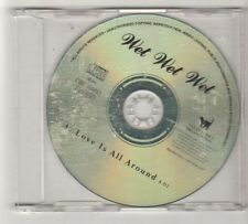 (FZ704) Wet Wet Wet, Love Is All Around - 1994 DJ CD