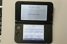 Nintendo 3DS XL (Latest Model)- Launch Edition Blue & Black Handheld System...