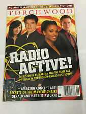 TORCHWOOD MAGAZINE DOCTOR WHO RADIO ACTIVE OCT 2008 #9 DR. WHO