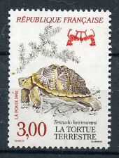 STAMP / TIMBRE FRANCE NEUF N° 2722 ** FAUNE / LA TORTUE TERRESTRE