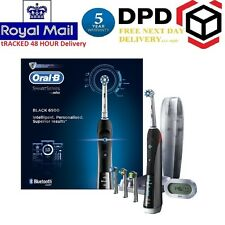 Braun Oral-B 6500 Black Smart Series Electric Toothbrush with Bluetooth