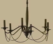 POTTERY BARN Graham 6-Arm Chandelier, NEW