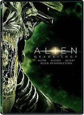 Alien: Horror Sci-Fi Movie Series Quadrilogy Collection 1 2 3 4 Box/DVD Set NEW!