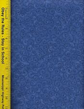 "108"" WIDE QUILT BACKING FABRIC:  TILT-A-WHIRL,  TWW-NAVY BLUE, 100% COTTON, BTY"