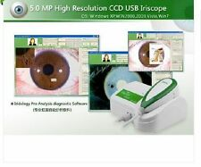 Latest 5.0 MP USB Iriscope Iris Analyzer Iridology camera w/ Pro Iris Software