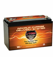 VMAX SLR100 100Ah 12 Volt AGM battery for 12V lights halloween christmas display