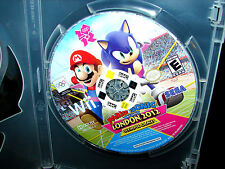 Mario & Sonic at the London 2012 Olympic Games (Wii)  DISC ONLY!   ***MINT***