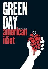 GREEN DAY POSTER - AMERICAN IDIOT ALBUM COVER - 24X36