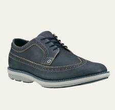 MEN'S TIMBERLAND*KEMPTON BROGUE OXFORD SHOES*COLOR NAVY SIZE 9.5 M STYLE #9227B