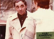 CHARLES AZNAVOUR FOLIES BOURGEOISES 1975 PHOTO D'EXPLOITATION #6