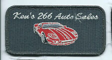 Ken's 266 Auto Sales Chedtah OK employee patch 2 X 4
