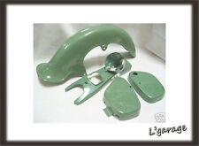 [LG661] HONDA C100 C102 C105 FENDER + SIDE COVER + HEAD LIGHT CASE [GREEN]