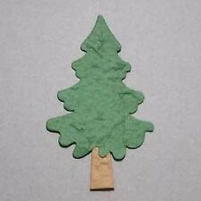PK4 LIGHT GREEN XMAS TREE DIE CUTS FOR CARDS/CRAFTS