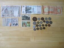 Foreign Currency Notes and Foreign Coins Lot