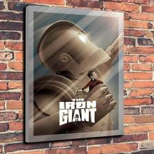 "Iron Giant Printed Canvas A1.30""x20""- Deep 30mm Frame V3 Fantasy"