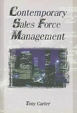 Contemporary Sales Force Management (Haworth Marketing Resources)-ExLibrary