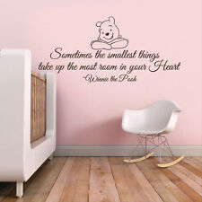 Sometimes Inspired Wall Decal Classic the Pooh Piglet Quote Vinyl Kid Room Decor