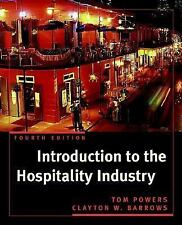 Introduction to the Hospitality Industry (Wiley Service Management Series)