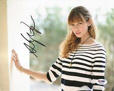 Analeigh Tipton Crazy Stupid Love Signed Auto 8x10 PHOTO PSA/DNA COA